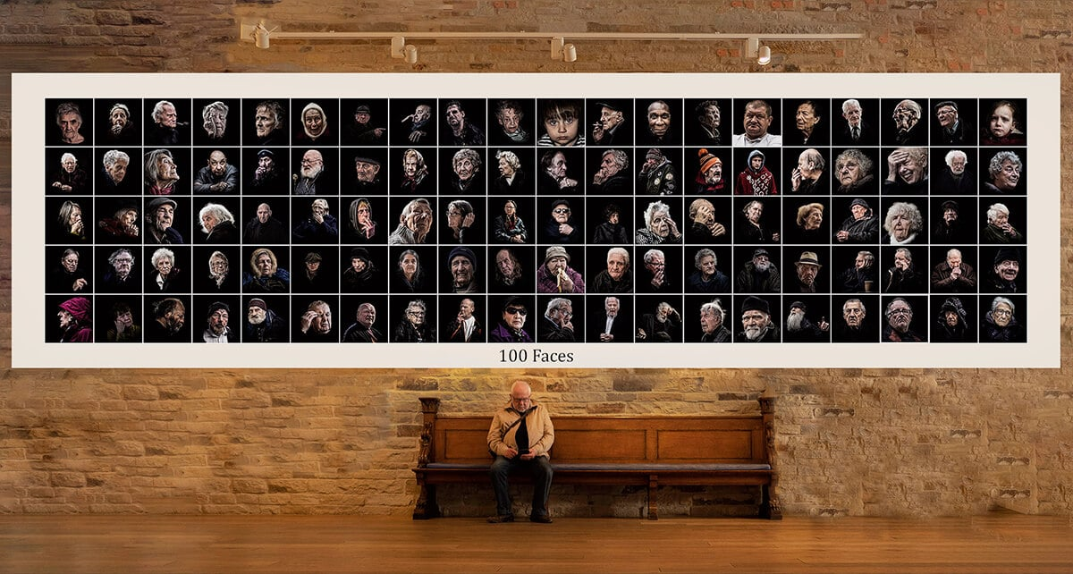 100 Faces - What we're aiming for 3